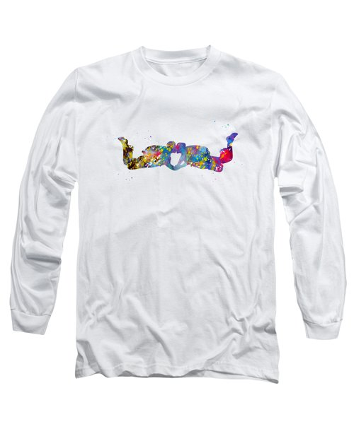 Couple Skydiver Long Sleeve T-Shirt