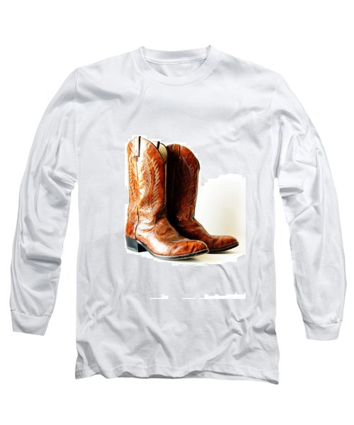 Cowboy Boots Long Sleeve T-Shirt