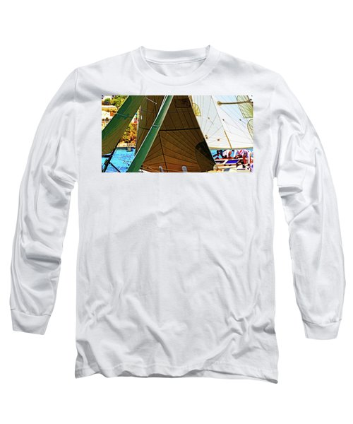 Crossing Sails Long Sleeve T-Shirt