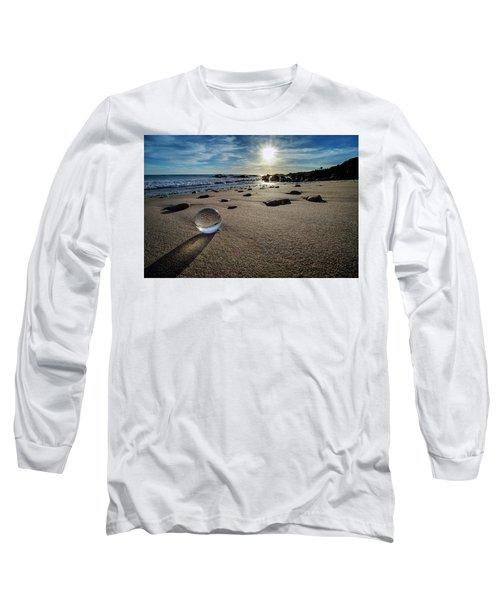 Crystal Ball Sunset Long Sleeve T-Shirt