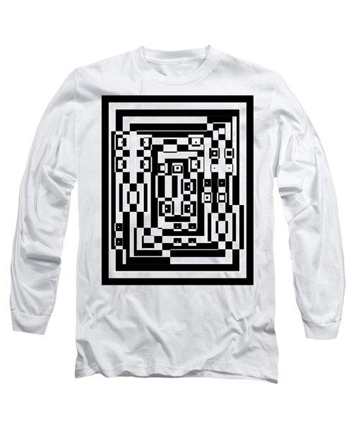 Cubical Cubes  Long Sleeve T-Shirt