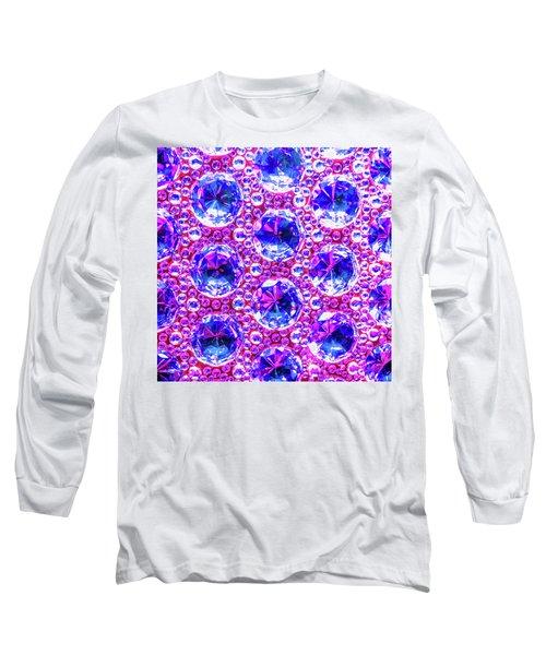 Cut Glass Beads 4 Long Sleeve T-Shirt