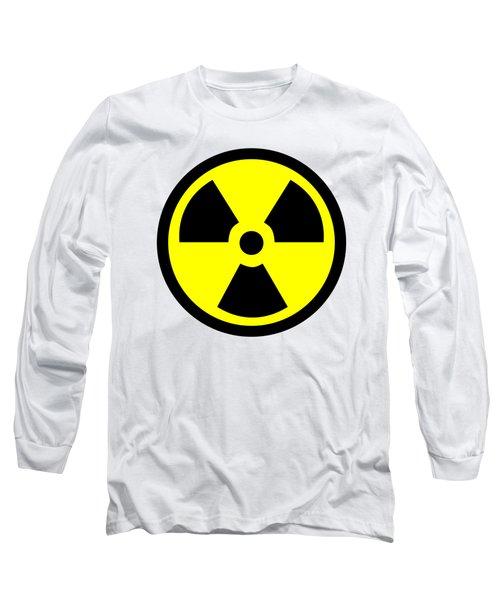 Danger Radiation Sign - Efb256 Long Sleeve T-Shirt