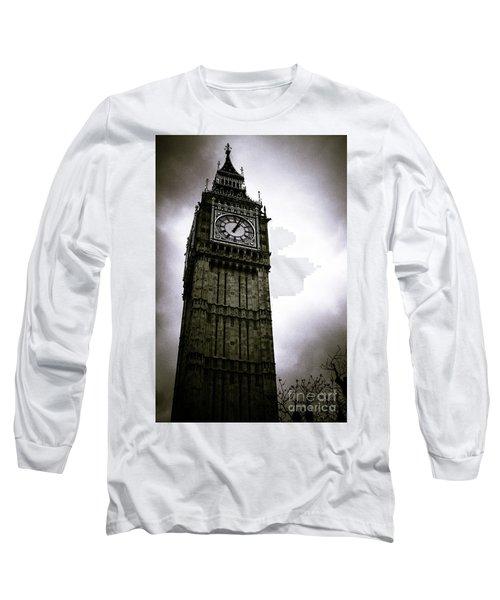 Dark Big Ben Long Sleeve T-Shirt