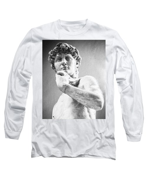 David Of Michelangelo Long Sleeve T-Shirt