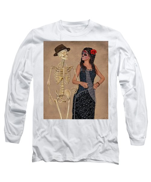 Day Of The Dead Costume Party Long Sleeve T-Shirt