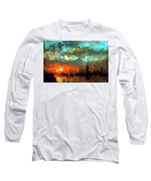 Detroit Days End Long Sleeve T-Shirt