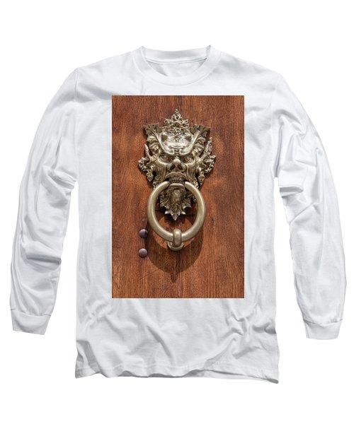 Devil Door Of Venice Long Sleeve T-Shirt