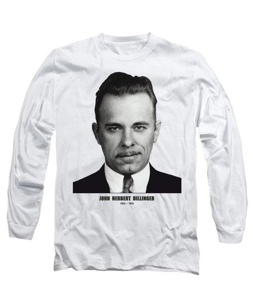 Dillinger Mugshot Version 2 - T-shirt Long Sleeve T-Shirt