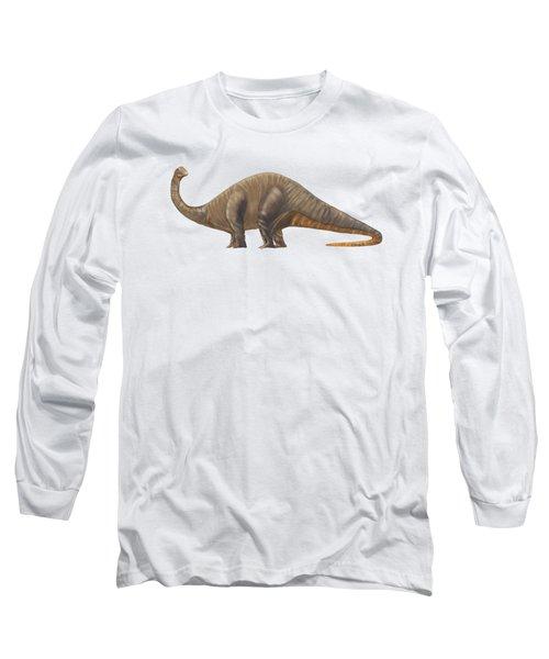 Dinosaur Apatosaurus Or Brachiosaurus Long Sleeve T-Shirt