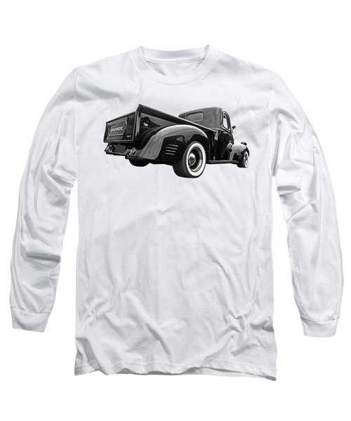 Dodge Truck 1947 Rear View Long Sleeve T-Shirt