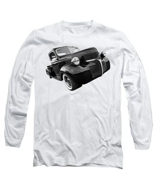 Dodge Truck 1947 Side View Long Sleeve T-Shirt