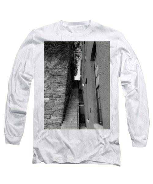 Does Evil Lurk Above? Long Sleeve T-Shirt