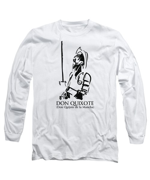 Don Quixote Long Sleeve T-Shirt
