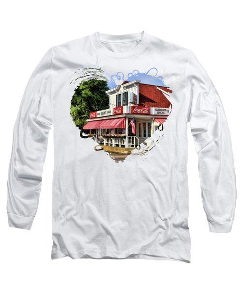 Door County Wilson's Ice Cream Store Long Sleeve T-Shirt