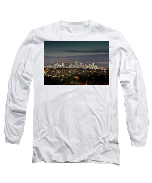 Downtown Dusk Long Sleeve T-Shirt