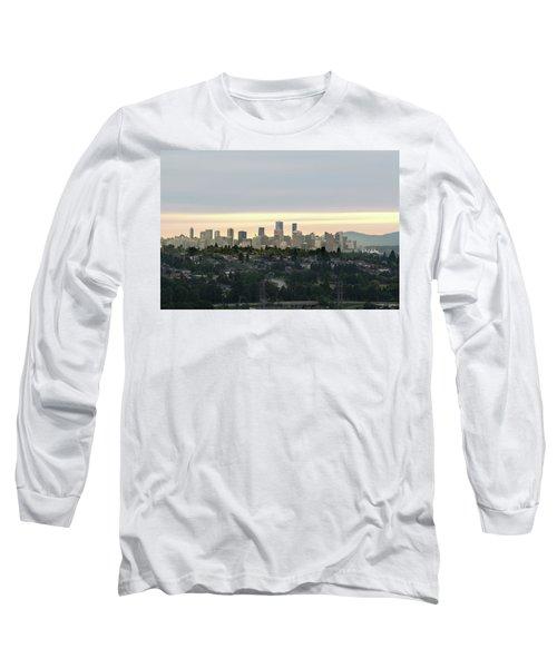 Downtown Sunset Long Sleeve T-Shirt