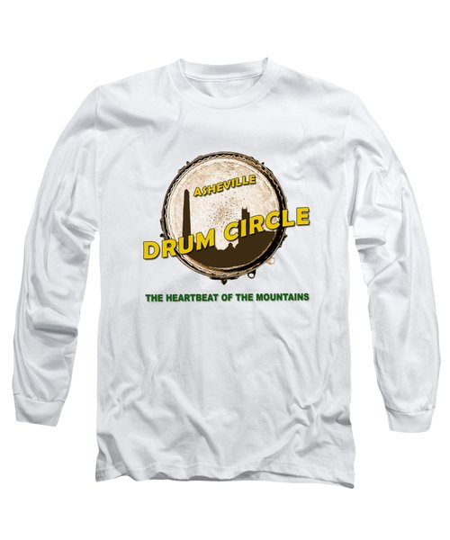 Drum Circle Logo Long Sleeve T-Shirt