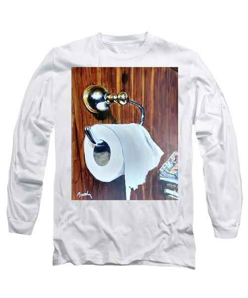 Duchamp's Paperwork Long Sleeve T-Shirt