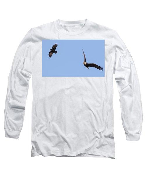 Eagle And Crow  Long Sleeve T-Shirt