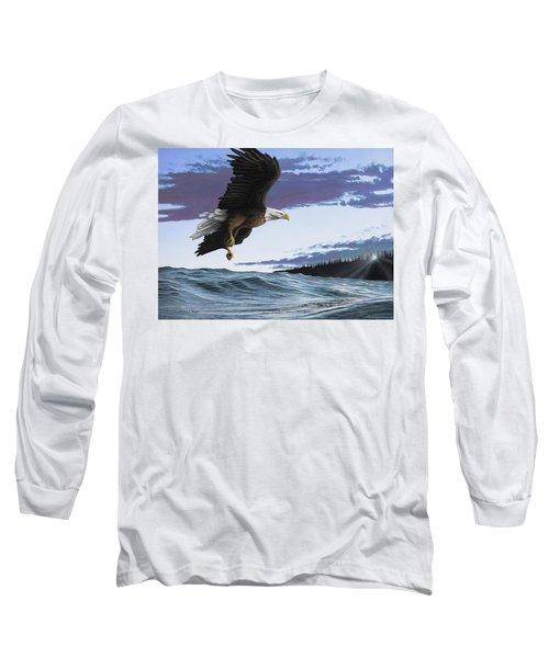 Eagle In Flight Long Sleeve T-Shirt