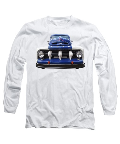 Early Fifties Ford V8 F-1 Truck Long Sleeve T-Shirt