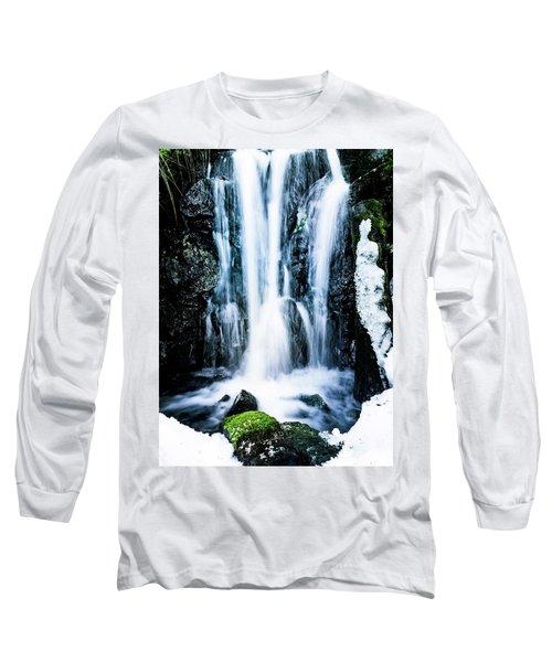 Early Spring Waterfall Long Sleeve T-Shirt