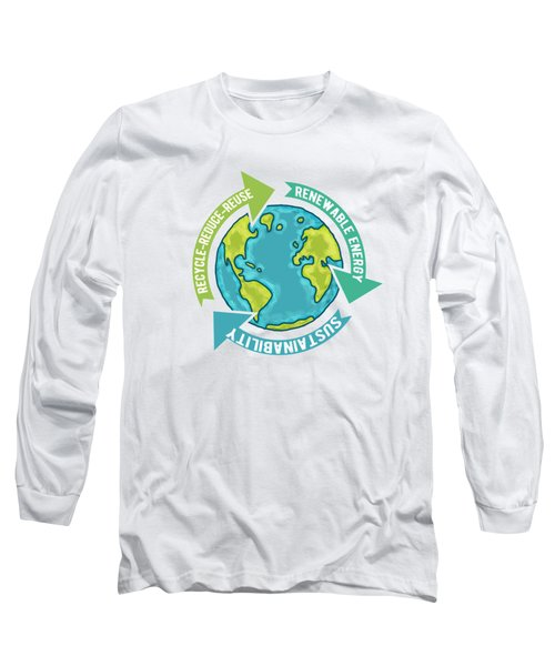 Earth Sustainability Long Sleeve T-Shirt