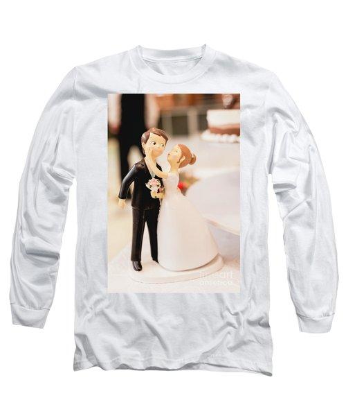 Elegant Wedding Cake Dolls Long Sleeve T-Shirt