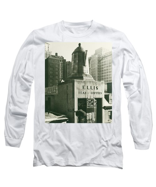 Ellis Tea And Coffee Store, 1945 Long Sleeve T-Shirt