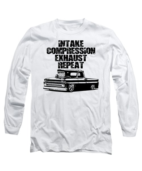 Engine Cycle Truck Long Sleeve T-Shirt