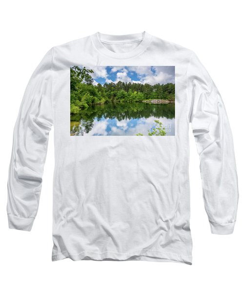 Euchee Creek Park - Grovetown Trails Near Augusta Ga 1 Long Sleeve T-Shirt