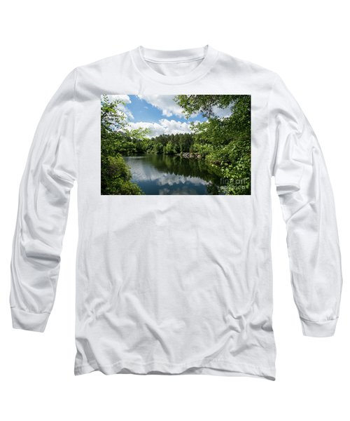 Euchee Creek Park - Grovetown Trails Near Augusta Ga 2 Long Sleeve T-Shirt