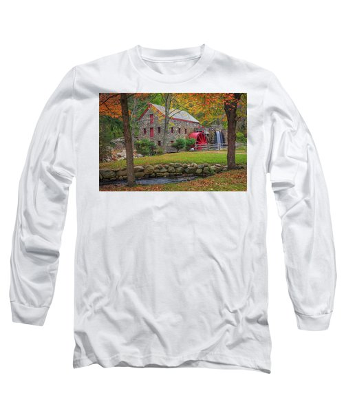 Fall Foliage At The Grist Mill Long Sleeve T-Shirt