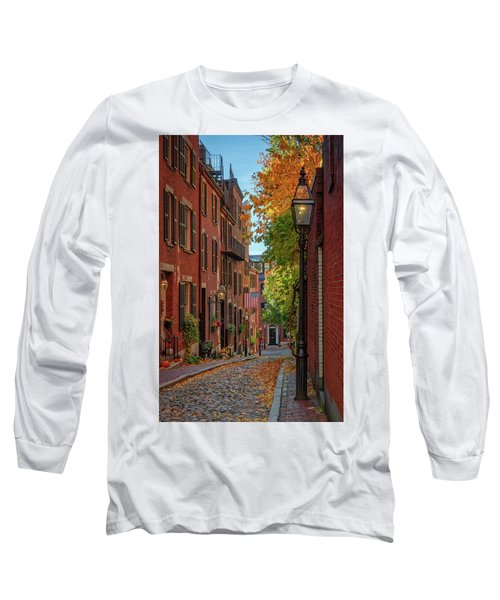Fall In Beacon Hill Long Sleeve T-Shirt