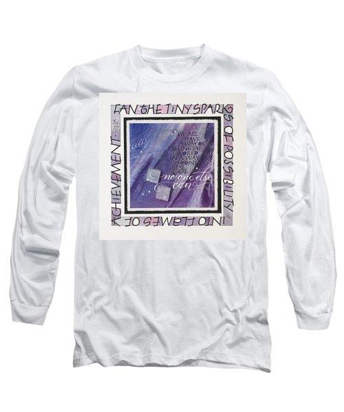 Fan The Sparks Long Sleeve T-Shirt
