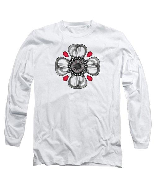 Fancy Cross Long Sleeve T-Shirt