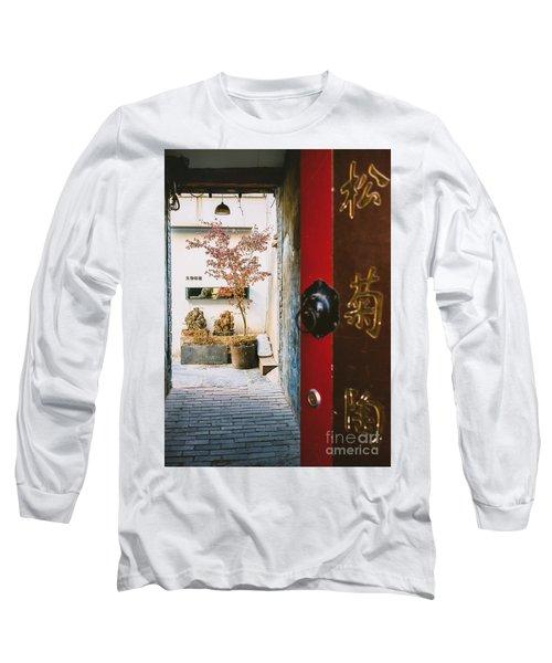 Fangija Hutong In Beijing Long Sleeve T-Shirt