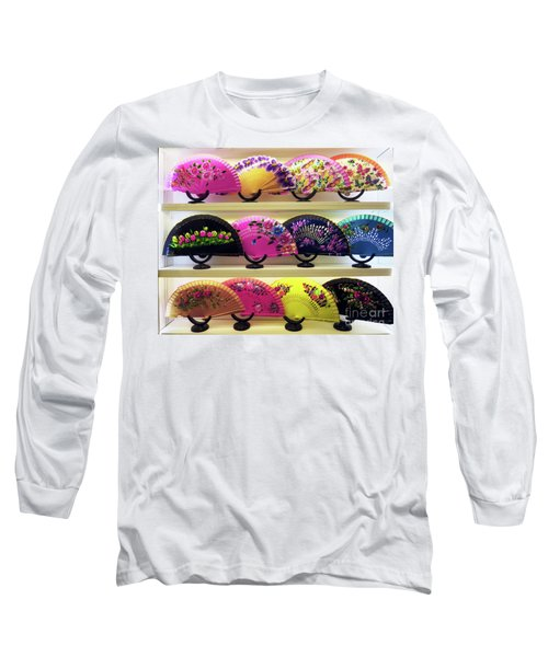 Fanned Out Long Sleeve T-Shirt