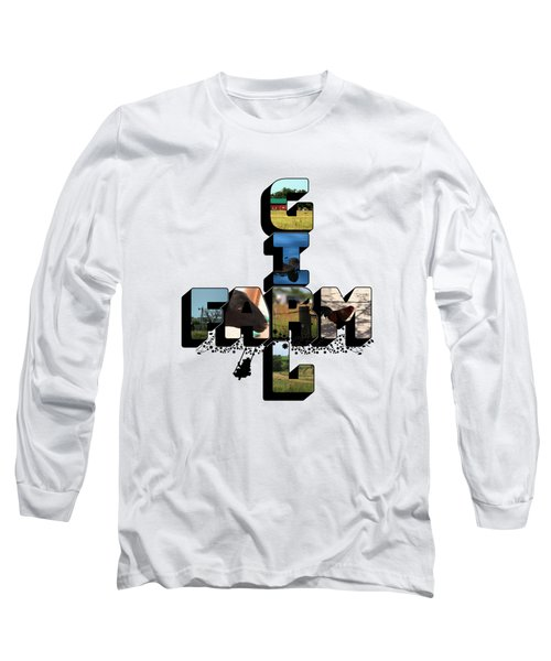 Farm Girl Big Letter 2 Long Sleeve T-Shirt