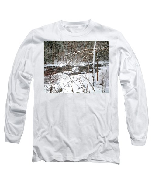 Farmington River - Northern Section Long Sleeve T-Shirt
