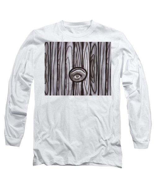 Fear - Eye Through Fence Long Sleeve T-Shirt