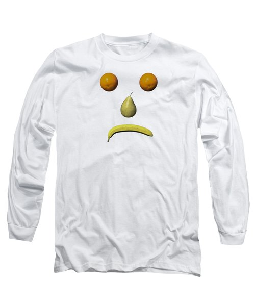 Feeling Fruity Frown Png Long Sleeve T-Shirt