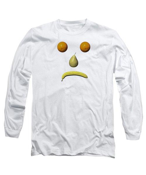 Feeling Fruity Frown Png Long Sleeve T-Shirt