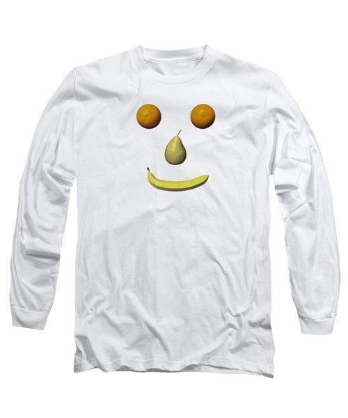 Feeling Fruity Smile Png Long Sleeve T-Shirt