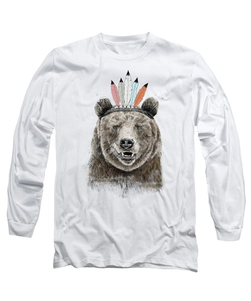 Festival Bear Long Sleeve T-Shirt