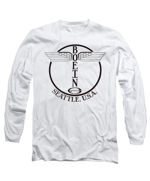 First Boeing Winged Totem Logo 1928 - T-shirt Long Sleeve T-Shirt