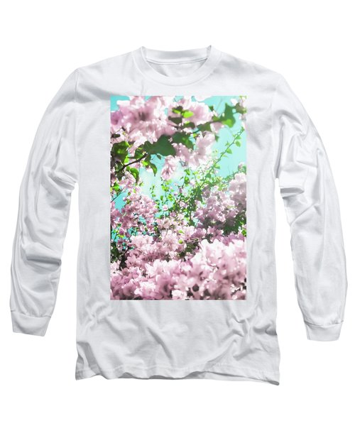 Floral Dreams Iv Long Sleeve T-Shirt