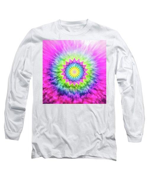 Flowering Mandala Long Sleeve T-Shirt