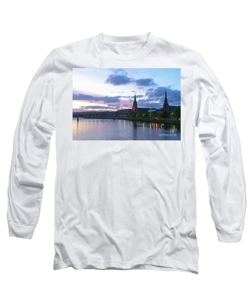 Flowing Down The River Ness Long Sleeve T-Shirt